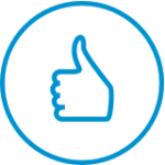 Rewards and Recognition icon, thumbs up