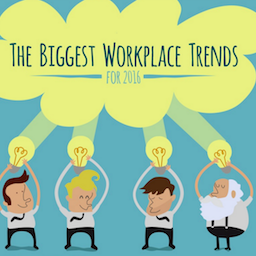 Spotlight shining on the biggest workplace trends of 2016