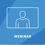 Webinar, person on a screen