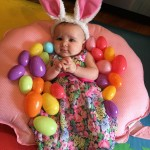 Baby Dressed as the Easter Bunny