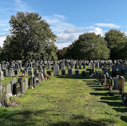 image of cemetary