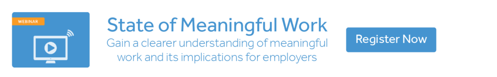 search for meaningful work