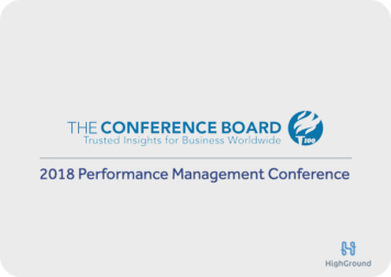 Conference: Performance Management