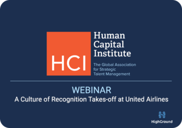 Webinar: A Culture of Recognition at United Airlines