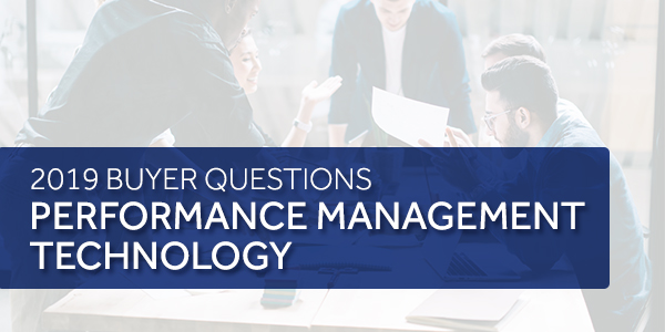 evaluating performance management providers